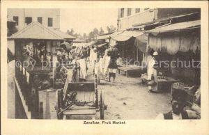 Zanzibar Fruit Market  / Zanzibar /