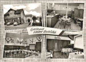 Usingen Wernborn Im Taunus Gasthaus Zur Germania Saalbau Des