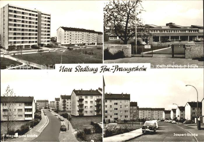 Preungesheim Jaspert Strasse Carlo Mierendorff Schule Frankfurt