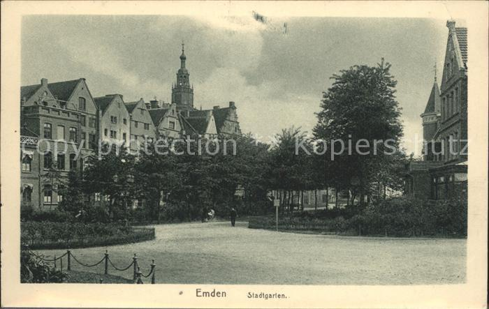 Emden Ostfriesland Stadtgarten / Emden /Emden Stadtkreis