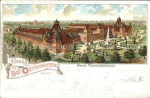 Bad Oeynhausen Neues Thermalbadehaus / Bad Oeynhausen /Minden-Luebbecke LKR