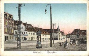 Wilsdruff Marktplatz / Wilsdruff /Saechsische Schweiz-Osterzgebirge LKR
