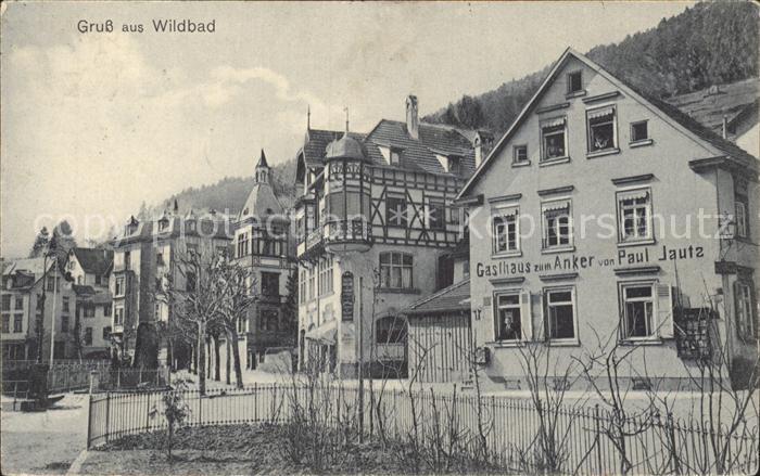Wildbad Schwarzwald Gasthaus zum Anker / Bad Wildbad /Calw LKR
