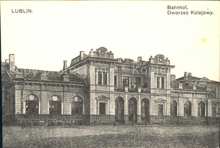 Lublin Lubelskie Bahnhof / Lublin /