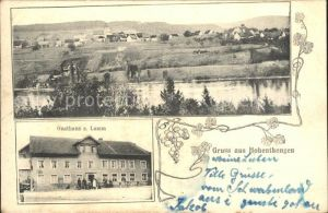 Hohentengen Hochrhein Gasthaus zum Lamm / Hohentengen /Waldshut LKR