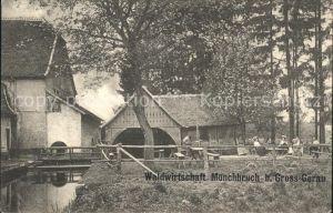 Gross-Gerau Waldwirtschaft Moenchbruch / Gross-Gerau /Gross-Gerau LKR