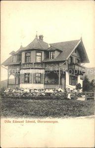 Oberammergau Villa Edmund Schmidt / Oberammergau /Garmisch-Partenkirchen LKR