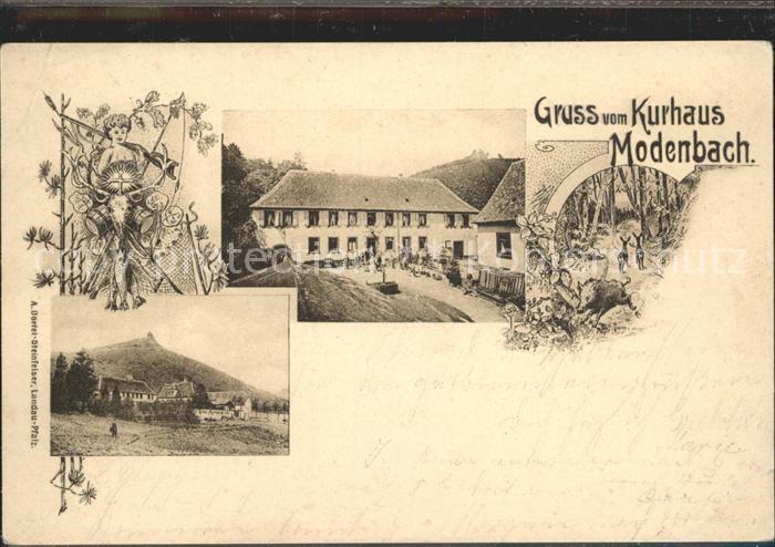 Burrweiler Kurhaus Modenbach / Burrweiler /Suedliche Weinstrasse LKR