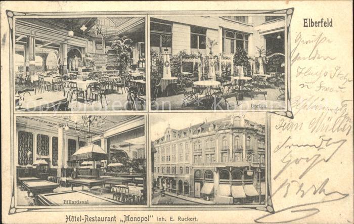 Elberfeld wuppertal hotel restaurant monopol wuppertal for Hotel wuppertal elberfeld