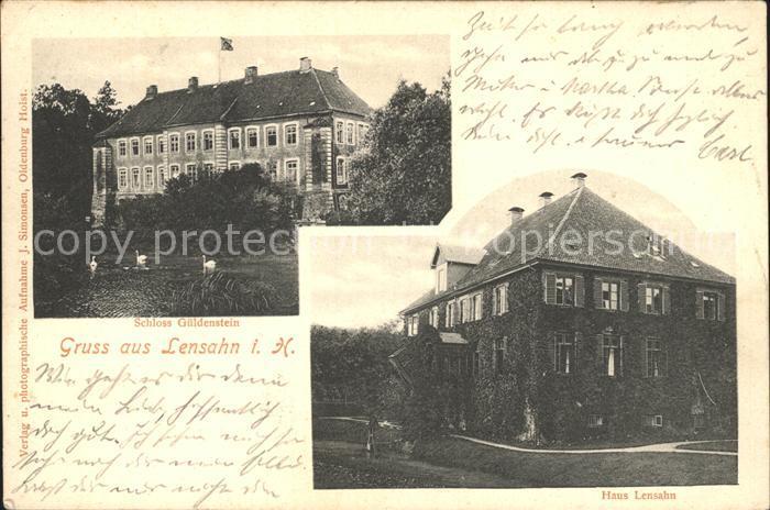 Lensahn Haus Lensahn Schloss Gueldenstein / Lensahn /Ostholstein LKR