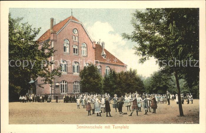 Barby Elbe Seminarschule Turnplatz / Barby /Salzlandkreis LKR