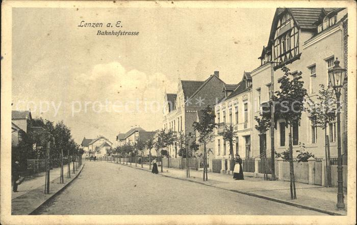 Lenzen Elbe Bahnhofstrasse / Lenzen Elbe /Prignitz LKR