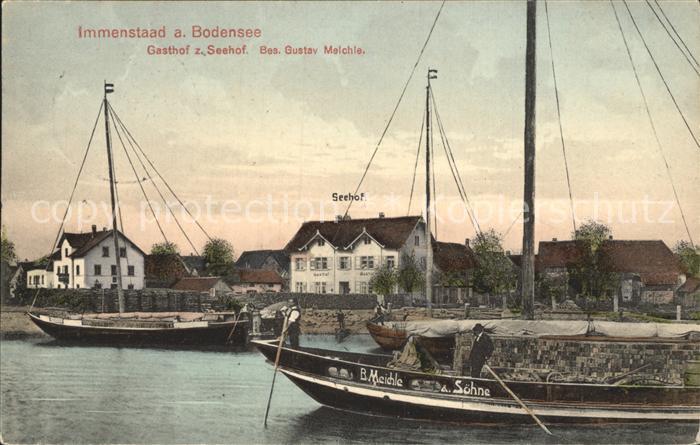 Immenstaad Bodensee Gasthof zum Seehof / Immenstaad am Bodensee /Bodenseekreis LKR
