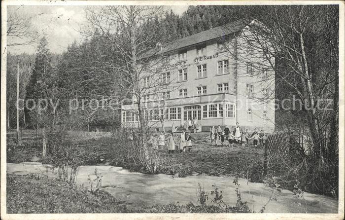 Bonndorf Schwarzwald Kindererholungsheim Steinabad / Bonndorf /Waldshut LKR