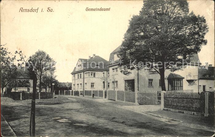 Arnsdorf Dresden Gemeindeamt / Arnsdorf /Bautzen LKR