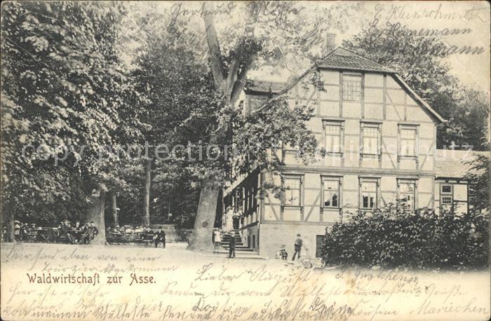Wittmar Waldwirtschaft zur Asse / Wittmar /Wolfenbuettel LKR