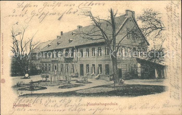 Helmstedt Haushaltungsschule / Helmstedt /Helmstedt LKR 0