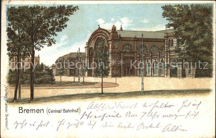 Bremen Central- Bahnhof / Bremen /Bremen Stadtkreis