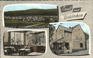 Biskirchen Gasthaus Metzgerei Schmidt / Leun /Lahn-Dill-Kreis LKR