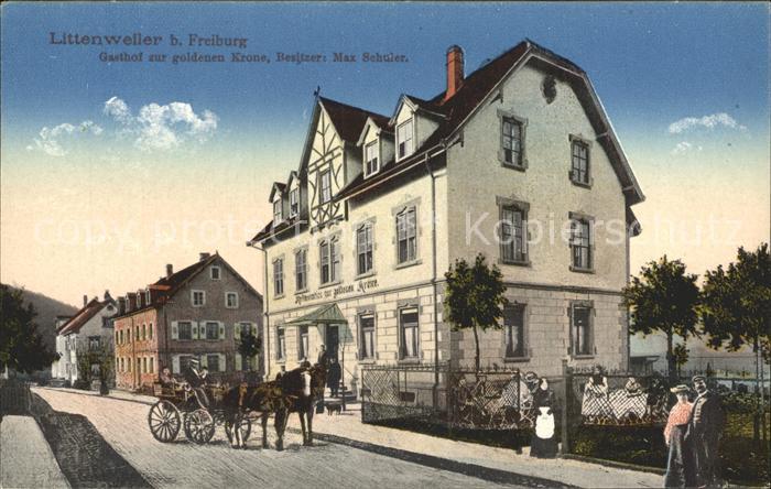 Littenweiler Gasthof zur goldenen Krone / Freiburg im Breisgau /Breisgau-Hochschwarzwald LKR