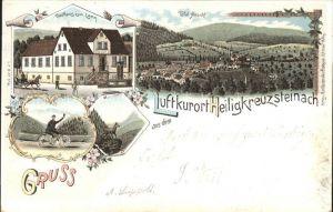 Heiligkreuzsteinach Gasthaus zum Lamm Totalansicht / Heiligkreuzsteinach /Heidelberg Stadtkreis