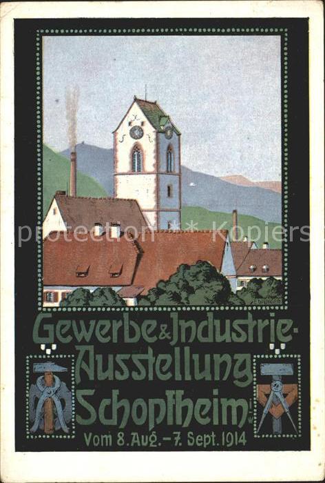 Schopfheim Gewerbe- und Industrie- Ausstellung / Schopfheim /Loerrach LKR