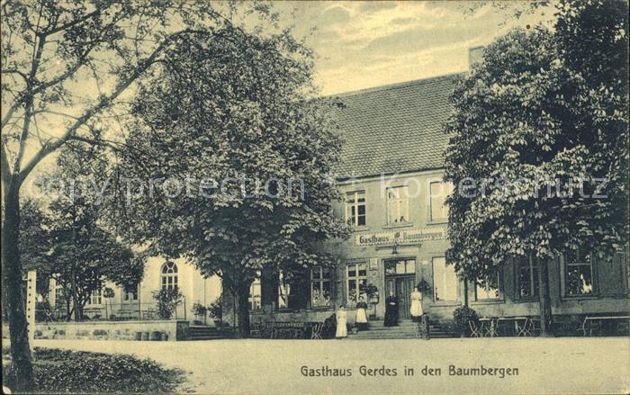 Nottuln Gasthaus Gerdes in den Baumbergen / Nottuln /Coesfeld LKR
