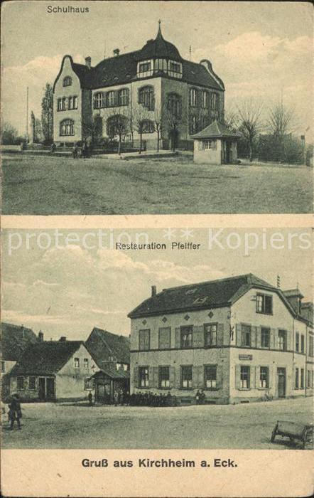 Kirchheim Teck Schulhaus Restauration Pfeiffer / Kirchheim unter Teck /Esslingen LKR