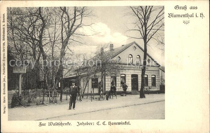 Blumenthal Bremen Zur Waldschenke / Bremen /Bremen Stadtkreis