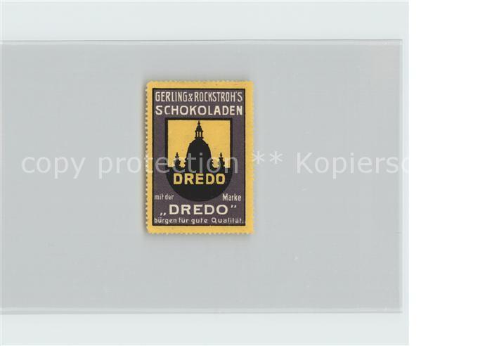 Dresden Dredo Schokoladen Kat. Dresden Elbe