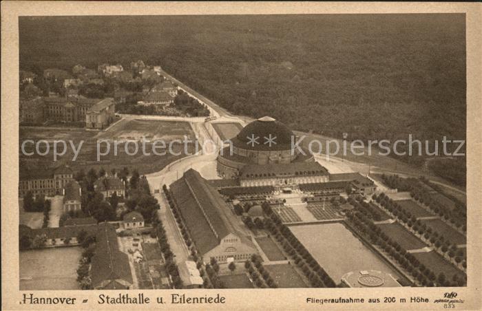 Hannover Stadthalle Eilenriede Kat. Hannover