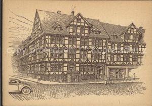 Hannover Hannoversche Baudenkmaeler Kat. Hannover