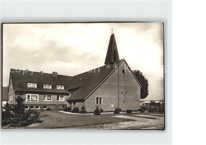 Harpstedt Katholische Kirche Kat. Harpstedt