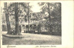 61735785 Hannover Zoologischer Garten Zoologischer Garten Alte Ansichtskarte Postkarte