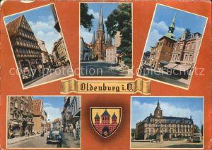 Oldenburg Niedersachsen Kirche Wappen Zentrum Kat. Oldenburg (Oldenburg)