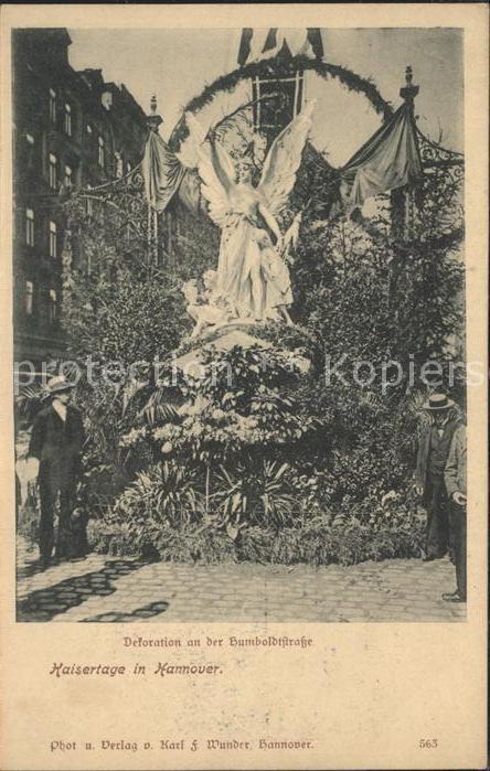 Ak Hildesheim Villen In Der Humboldtstrasse Nr 6418949