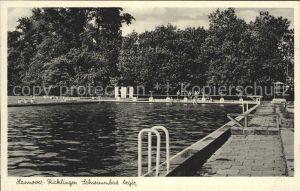 Ricklingen Schwimmbad Aegir Kat. Hannover