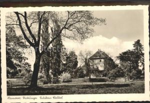 Ricklingen Gutshaus Edelhof Kat. Hannover