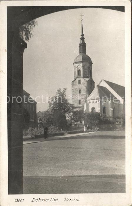 Dohna Sachsen Kirche Kat. Dohna Sachsen