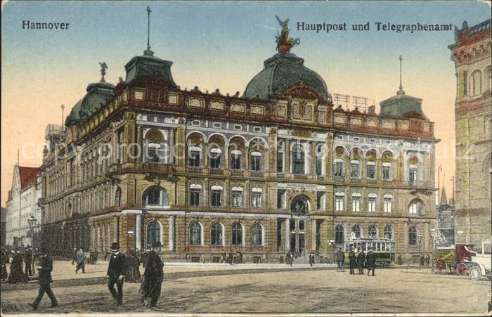 Hannover Hauptpostamt und Telegraphenamt Kat. Hannover