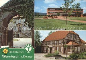 Wennigsen Deister Klostertor Schulzentrum Heimatmuseum Kat. Wennigsen (Deister)