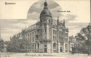 Hannover Hannoversche Bank Kat. Hannover
