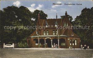 61740059 Hannover Zoologischer Garten Zoologischer Garten Alte Ansichtskarte Postkarte
