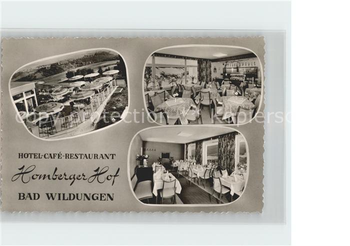 Bad Wildungen Hotel Cafe Restaurant Homberger Hof Kat. Bad Wildungen