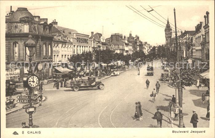 Calais Boulevard Jacquard  Kat. Calais
