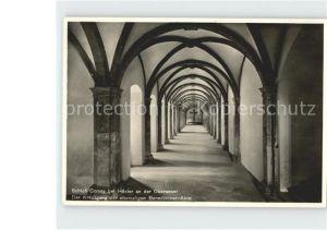Hoexter Weser Schloss Corvey Kreuzgang der ehem Benediktiner Abtei Kat. Hoexter
