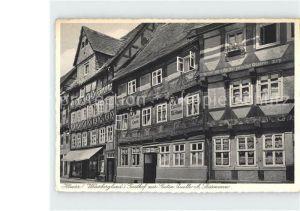 Hoexter Weser Gasthof zur Guten Quelle Kat. Hoexter