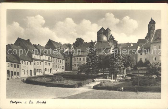 Stolpen Markt Schloss Schaenke Kat. Stolpen Nr. dp05549 - oldthing ...