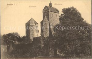 Stolpen Koselturm Seigerturm Kat. Stolpen
