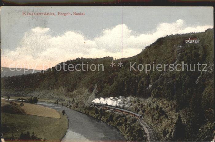 Augustusburg Bastei Eisenbahn Erzgebirge Kat. Augustusburg